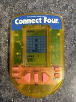 Vintage 1995 Hand Held CONNECT FOUR Pocket Electronic Video Game Milton Bradley