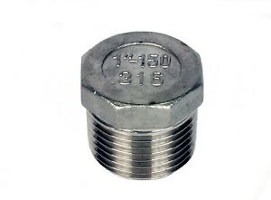 Stainless Steel Pipe Fittings  :  Marine Grade 316  :  BSP Threaded