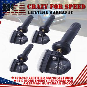 4PCS 315Mhz 13598771 TPMS Tire Pressure Monitoring Sensor For Buick GMC Chevy GM