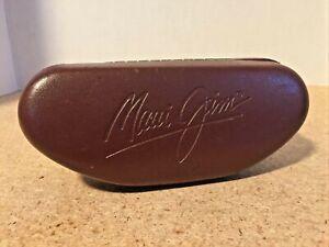 Maui Jim Sunglasses Case Brown