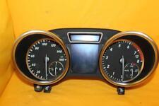 Speedometer Instrument Cluster 2012 Mercedes ML-Class ML350/550 66,399 Miles