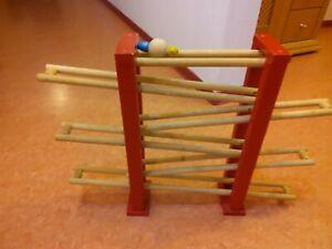 Eichhorn Kugelbahn MagicRolly, Holzspielzeug, Kleinkinder, Motorik, gut erhalten