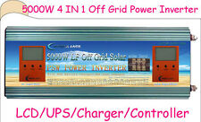 4 IN 1 OFF Grid 5000W LF SP PSW Power Inverter 24V DC/110V,220V AC/1200W Solar