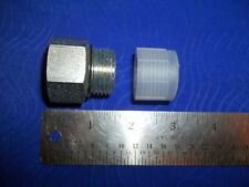 """Adapter Fitting 1 1/16""""-12 O-ring Thread with 1/2"""" FPT-Qty 2"""