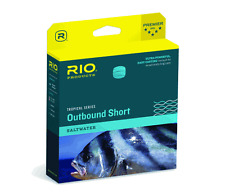 RIO TROPICAL OUTBOUND SHORT WF8F/I #8 WT FWD 10FT CLEAR TIP SALTWATER FLY LINE