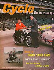 Cycle Magazine August 1964 - BMW, BSA, Indy 500, A. J. Foyt, Yamaha, Honda, Ceco