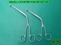 MAGILL CATHETER FORCEPS SET OF 2