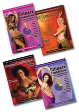 Super Belly Dance Combos DVD Set - 4 DVDs / Videos