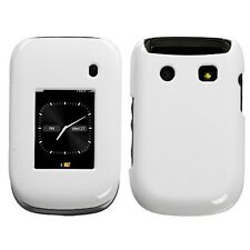 Ivory White Hard Case Cover for Blackberry Style 9670