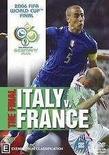 Germany 2006 FIFA WORLD CUP Football FINAL ITALY Vs. FRANCE DVD Soccer Set SBS