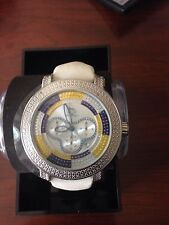 NEW Techno Master TM-2108 ICE  Watch Men's White Diamond