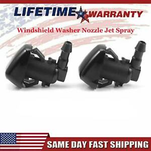 For Dodge Nitro Jeep Liberty Commander Windshield Washer Nozzle Jet Spray 2x US
