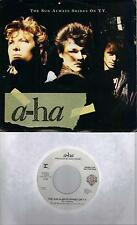 A-HA  The Sun Always Shines On TV  rare promo 45 with Picture Sleeve