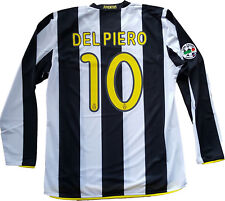 maglia Del Piero Juventus Match Worn player Issue Nike Shirt Jersey 2008 2009 XL