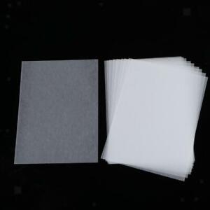 10 Stück Schrumpffolie, Schrumpffolienplatten Transparent Schrumpfplastik für