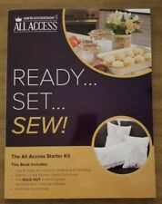 Anita Goodesign Machine Embroidery Collection - All Access - Ready, Set, Sew
