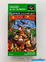 SUPER DONKEY KONG Nintendo Super Famicom SFC SNES JAPAN Ref:311202