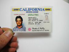Back to the Future - Marty McFly Drivers License ID Prop Memorabilia