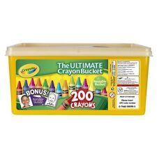 NEW Crayola Ultimate Crayon Bucket 200 Crayons FREE SHIPPING