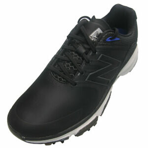 New Balance Mens Tour NBG3001 Microfibre Leather Golf Shoes - Black