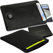 Mercedes-Benz Style Kreditkartenetui, EC-Karten Leder Hülle Credit Card Case Neu