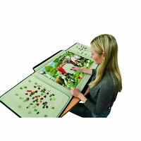NEW Puzzle Table Case 1500 Pieces Jigsaw Board Portable Transport Storage Box