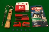 SNOOKER/POOL MASTER CHALK RE-TIPPING BUNDLE.. FREE  DELIVERY