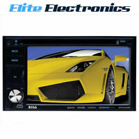 "BOSS BV9362BI 6.2"" MOTORIZED MONITOR BLUETOOTH CAR IPOD USB DVD PLAYER RECEIVER"