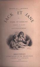 JACK ET JANE - Bibliothèque d'Education et de Rècrèation