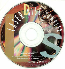 """WARNER REPRISE 8"""" Laserdisc PROMO SAMPLER Mint NEVER PLAYED Madonna REM Sinatra"""