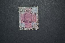 GB 1902 9 D CENTRE violet foncé