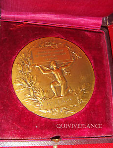 MED3172 - Medal Syndicate Manufacturers Ceramic By Dubois - French Medal