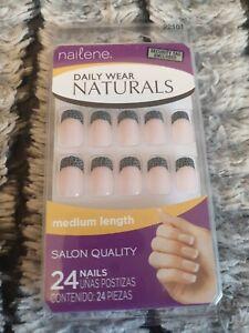 Nailene Natural Nails (24 Nails) (Medium)