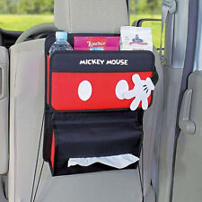 New Disney Mickey Mouse Seat Back Organizer Holder Storage Car Accessories