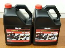 Yamaha Yamalube Gallon Kit *Lot of 2* 10W40 Motorcycle ATV 4-Stroke Oil OEM