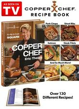 Copper Chef Cook Book  As Seen On Tv  Free Ship  New Gotham Steel Pan !