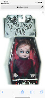 Living Dead Dolls Mini LIZZIE BORDEN Open Series 2 Mezco LDD Mez