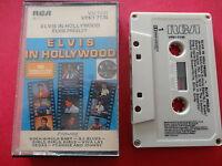ELVIS PRESLEY in hollywood CASSETTE TAPE australia