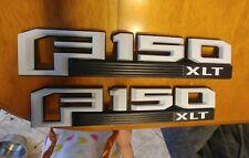 2015-20 F150 XLT fender badges in gloss Oxford white
