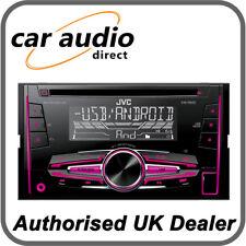 JVC KW-R520 Double DIN 50W x 4 CD/MP3/USB RDS Radio Stereo Tuner Player EQ BN