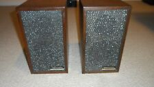 Vintage Radio Shack Realistic Minimus-1 40-1966A Speakers- One Pair