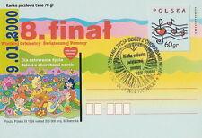 Poland postmark KATOWICE - VIII final WOSP (analogous)