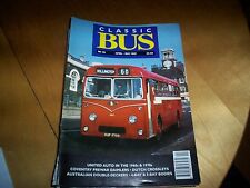 classic bus magazine no 28 united auto 1960/70s coventry prewar daimlers