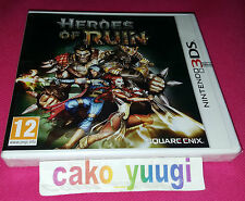 HEROES OF RUIN NINTENDO 3DS NEUF SOUS BLISTER VERSION 100% FRANCAISE