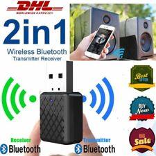 USB Bluetooth V5.0 Audio Transmitter Sender für TV PC Lautsprecher Kopfhörer DHL