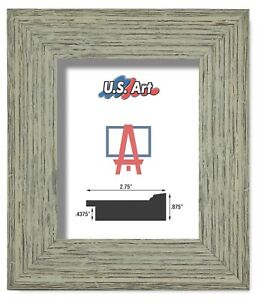 """US Art Frames 2.75"""" Worn Distressed Country Tumbleweed Polystyrene Picture S-A"""