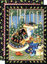 Mary Engelbreit-Animal'S Christmas Santa Claus-Sunrise Vintage Christmas Card