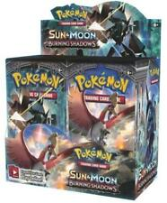POKEMON TCG SUN & MOON BURNING SHADOWS BOOSTER FACTORY SEALED BOX - ENGLISH -