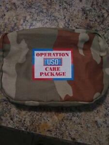 Operation USO Care Package Toiletries Bag - Camo