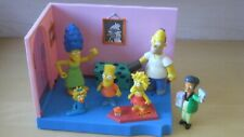 2003 Playmates Simpsons Interactive Playset with Figures & Accessories